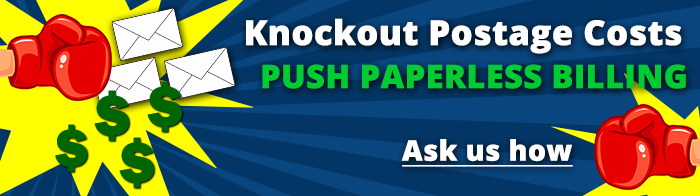 Knockout postage costs