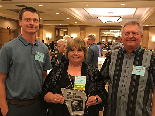 Christy Berger, WSTA Hall of Fame